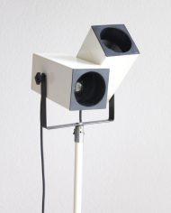 Vintage-dubbele-spots-vloerlamp-verrekijker-creme-seventies-3a