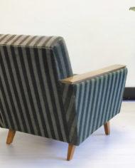 Vintage-groene-velours- fauteuil-Deens-Jaren-60-6