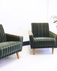 Vintage-groene-velours-fauteuil-Deens-Jaren-60-8