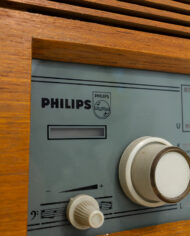 Vintage houten radio Philips Sirius jaren 60