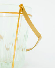 Vintage ijsemmer Duchesse Bourgogne met messing hengsel