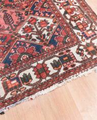 Vintage vloerkleed met patroon van bloemen en bladeren 315×214 cm