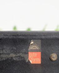Vintage zilverkleurige rolkalender Gute Form Duitsland