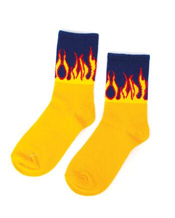 Vlammen sokken