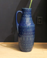 West-Germany-Scheurich-jug-floorvase-423-47-blue-4