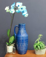 West-Germany-Scheurich-jug-floorvase-423-47-blue-6