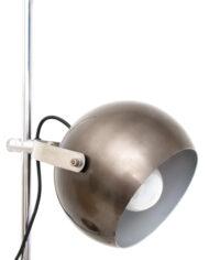 Wilko vloerlamp met metalen bollen space age
