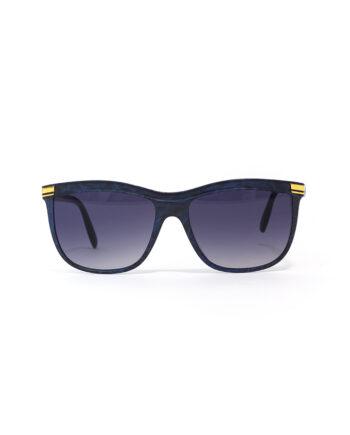 Zonnebril Guy Laroche blauw/zwart vintage