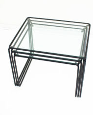 Zwarte-mimiset-bijzettafels-glas-en-draadstaal-vintage-6