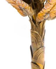 Maison Jansen messing bananenboom Mid-Century Hollywood Regency