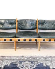 arne-norell-coja-donkergroen-leren-bank-fauteuils-1