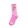 Roze bananen sokken