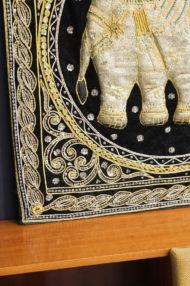 birmese-vintage-kalaga-olifanten-schilderij-wanddoek-4