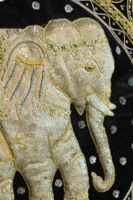 birmese-vintage-kalaga-olifanten-schilderij-wanddoek-7