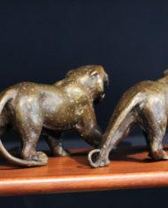 bronze-tijger-beelden-vechtende-vintage-3