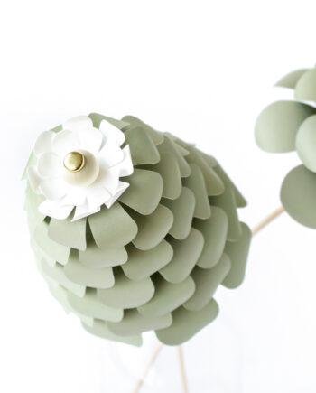 De Bloemenier DIY groot stapelblaadje