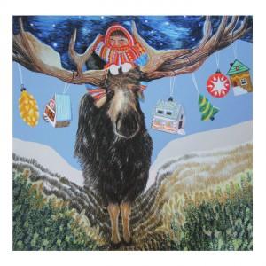 eland-kerst-kaart-scandinavisch-aafke-de-groot-illustraties