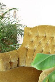 groene-velvet-chauffeuse-fauteauil-stoel-vintage-3