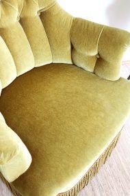 groene-velvet-chauffeuse-fauteauil-stoel-vintage-5
