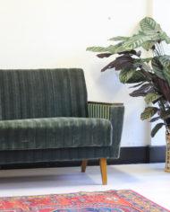 groene-vintage-sofa-bank-slaapbank-strepen-jaren 60-3