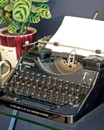 Hermes 2000 jaren 30 typemachine
