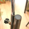 Jaren 60 bruine OMI vloerlamp by Koch & Lowy