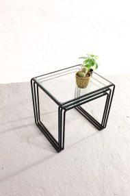 jaren-80-mimiset-zwart-glas-metaal-vintage-5