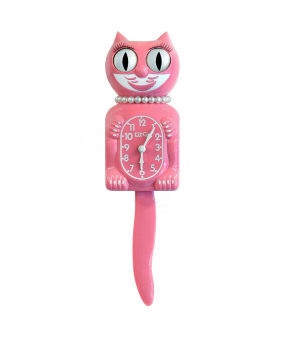 Kit-Cat Strawberry Ice lichtroze klok