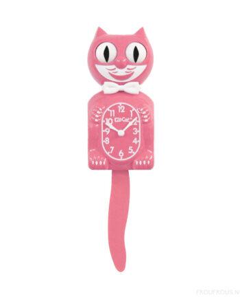 Kit-Cat Strawberry Ice lichtroze klok