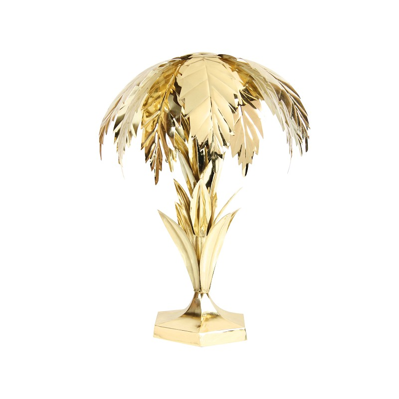 &Klevering Palmboom lamp messing finish