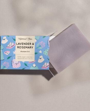 Haarzeep - Lavendel & Rozemarijn
