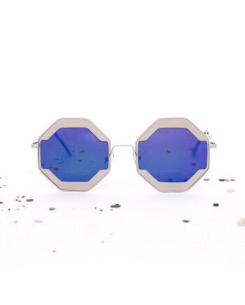 Octagon achthoekige zonnebril