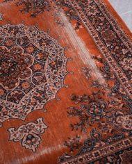 oranje-roest-perzisch-tapijt-vintage-3