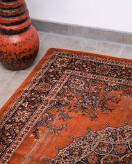 oranje-roest-perzisch-tapijt-vintage-4