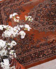 oranje-roest-perzisch-tapijt-vintage-6