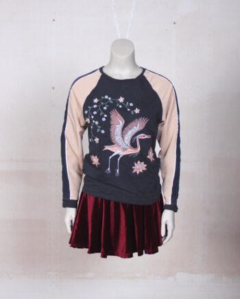 oriental sweater
