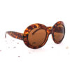 Oversized 70s cateye zonnebril