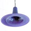Vintage paarse heksenhoed lamp