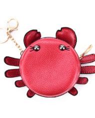rood-krab-tasje-portemonnee-sleutelhanger-