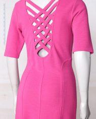 roze-bodycon-vintage-jurk-rug-3