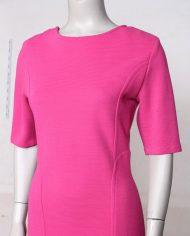 roze-bodycon-vintage-jurk-rug-4