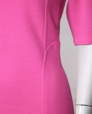 roze-bodycon-vintage-jurk-rug-5