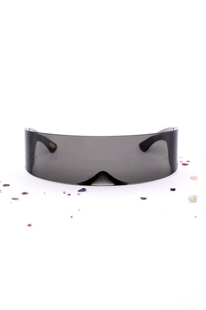 Space zonnebril futuristische zonnebril