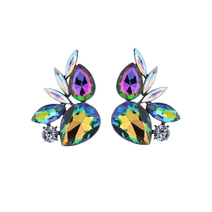 kristal oorbellen