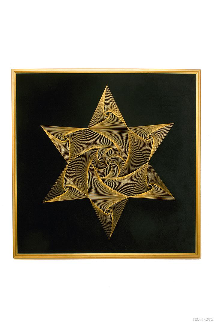 String art schilderij