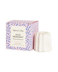 Solid deodorant – Palmarosa & Geranium