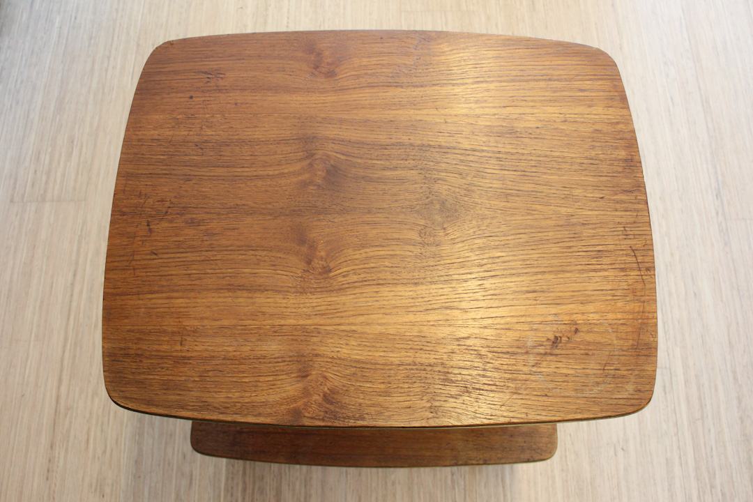Vintage Woonkamer Meubels : Verrijdbaar vintage audio meubel met sierlijke pootjes froufrous