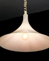 Vintage Harco Loor Dutch Design lamp heksenhoed