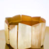 Vintage armband kralen van hoorn