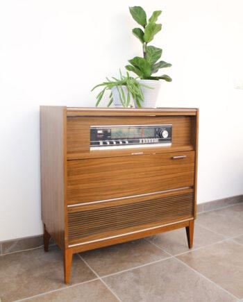 Vintage radiomeubel